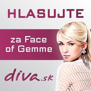 Vyberte si svoju Face of Gemme by Diva.sk a vyhrajte!